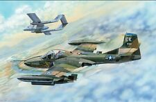 "Avion d'attaque au sol US CESSNA A-37B ""DRAGONFLY"" - KIT TRUMPETER 1/48 n° 2889"