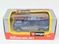 1:43 BURAGO BBURAGO #4102 MERCEDES-BENZ 190 E BOXED [QB3-040]