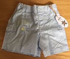 Baby Boys Adams Light Blue Shorts Size 3-6 Months
