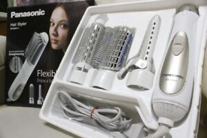 Panasonic EH-KA31 Blow Brush Electric Hair Styler with 3 Attachments White