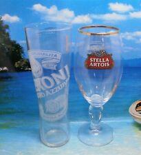 Set Of 2 Stella & Peroni Pint Glasses 20oz Brand New 100% Genuine Official