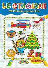 Le stagioni, filastrocche e cornicette - Salvadeos - Libro nuovo in offerta!