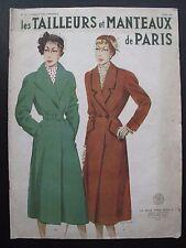 LES TAILLEURS et MANTEAUX de PARIS STYLE BOOK for HIVER 1951. No. 27