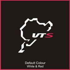 Citroen Saxo VTS Nurburgring Circuit Decal, Track, Vinyl, Sticker, N2029