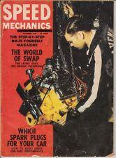 Speed Mechanics Magazine November 1956 Spark Plugs