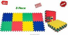 Exercise Mat Foam Kids Play EVA Home Gym Workout Fitness Equipment 8 Piece Floor