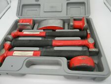 Dent Fender Auto Body Repair Kit Car Truck Hammer & Dolly Set Forged 7pc