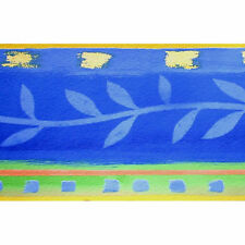 SALE! Wallpaper Borders Blue 8511-30 Vines Modern 5M Border