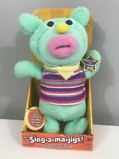 Sing a MA Jig Teal Fisher Electronic Singing Plush Group Songs