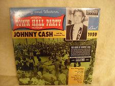 Johnny Cash, Live At Town Hall Party 1959, Sundazed 180,  LP5171, 2003, SEALED