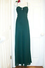 Ever After 3X Rhinestone Clasp Evergreen Ball Gown Bridal Prom NWT