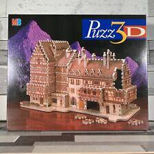 BAVARIAN MANSION Puzz 3D Jigsaw Puzzle 418 Pcs Model German Fachwerkhaus NEW