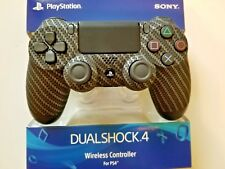 SONY PS4 PLAYSTATION 4 CARBON FIBER SOFT TOUCH CONTROLLER, .... BRAND NEW