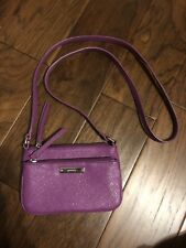 Nine West Small Purple Wallet Crossbody Purse