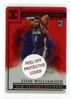 2019-20 Panini Impeccable Stainless Stars Red 60/60 Zion Williamson #1 Rookie RC