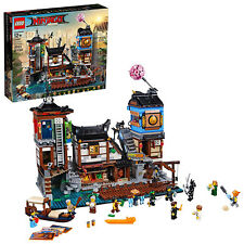 LEGO The Ninjago Movie Ninjago City Docks Building Kit (70657, 3553 Piece)