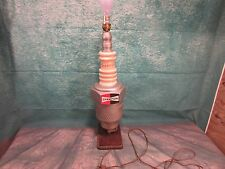 Vintage Champion spark plug Lamp counter top diplay sign working light