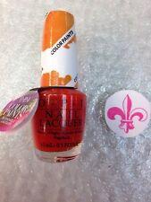 Opi Color Paints P21 Chromatic Orange nail polish lacquer 5 oz Blendable Lacquer