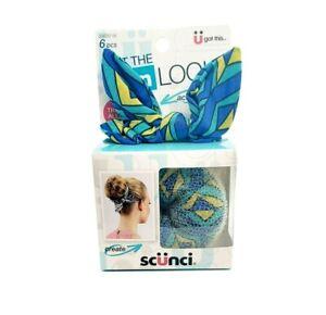 Scunci Get The Bun Look Hair Accessory Bun Maker 6 Piece Kit