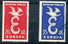 STAMP /// TIMBRE FRANCE OBLITERE N° 1173/1174 EUROPA