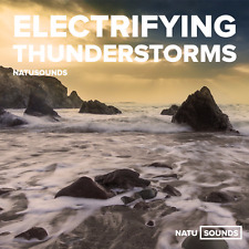 Natural White Noise Thunderstorms Relaxing Nature Sounds With Ocean Waves & Rain