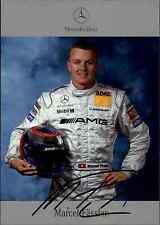 Mercedes DTM Motorsport Autogrammkarte Marcel Fässler 2003 Tourenwagen