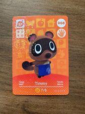 Timmy Series 1 Animal Crossing Uk Amiibo Card