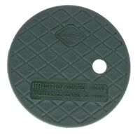 "Dura Round Sprinkler Valve Box Replacement Lids Size 7"" Color Green"