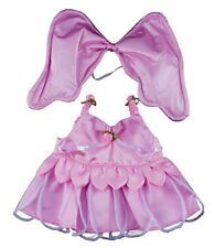 """Teddy Bear Clothes Pink Butterfly Outfit, fits 16"""" teddy mountain & Build a Bear"""