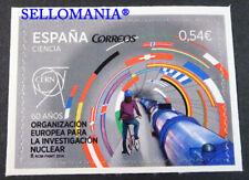 2014 60 AÑOS CERN INVESTIGACION NUCLEAR EDIFIL 4849 ** MNH FLAGS         TC20588