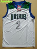 Lonzo Ball Jersey Mens SexeMara Throwback Basketball Jerseys #2 Chino Hills