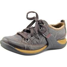 Chaussures marrons en cuir pour femme