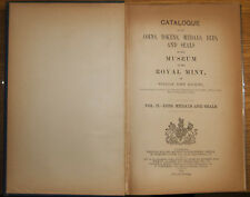 More details for hocking w j, royal mint museum catalogue vol.ii, dies, medals & seals (1910)
