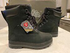 Timberland 800 Gram Primaloft Black Nubuck Leather Snow Drifter Waterproof Boots