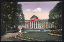 Wiesbaden-Blumengarten Curgarten-1915-Kunstkarte-Feldpost-Darmstadt-Hessen-11