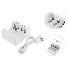 Ebl Usb Mini Univeral Charger 4-Slot For Aa Aaa Ni-Mh Ni-Cd Battery Charging