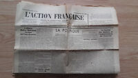 Journal Nationalist L Action Figure French 28 September 1934 N° 271 ABE