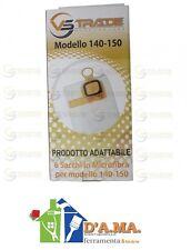 Filtro filtrello compatibile aspirapolvere VOLWERK FOLLETTO VK140 VK150 6 sacchi