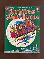 Christmas with the Super-Heroes - DC C-43 Treasury - VF- (7.5)  Off-White Pages