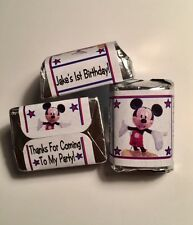 30 Mickey Mouse Clubhouse Birthday Party Or Baby Shower Hershey Nugget Stickers