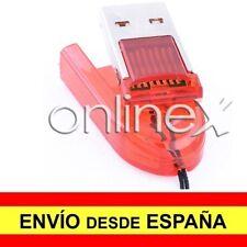 Adaptador  Tarjeta Micro SD a USB Color Rojo a885