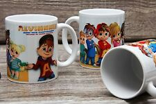 Alvin and the Chipmunks Mug Movies Character Gift Nice Ceramic Cup 11 Oz.