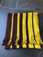 Paul Smith Reversible Yellow/Brown  Stripe Scarf  100% Wool