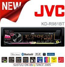 Autoradios et façades bluetooth JVC 4 canaux pour véhicule