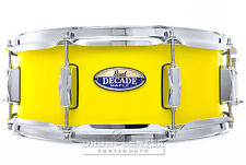 Pearl Decade Maple Snare Drum 14x5.5 Solid Yellow - Dmp1455S/C228