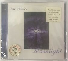 Nightmoods Moonlight CD Peaceful Piano Music Beethoven To Nature Body Mind Soul