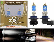 Sylvania Silverstar ZXE Gold 9006 HB4 55W Two Bulbs Head Light Plug Play Replace