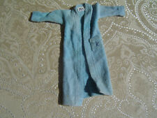 Vintage 1961 Ken doll blue terry cloth Robe with K monogram #784