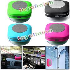 Newest Mini Waterproof Wireless Bluetooth Speaker Ideal For Shower Car Blue