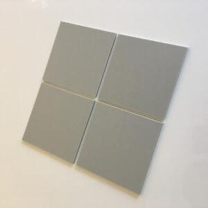 Square Acrylic Wall Tiles - Light Grey